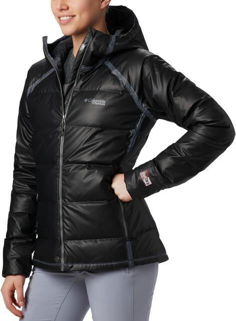 Columbia OutDry Ex Alta Peak Manteau en duvet Femme, black heather